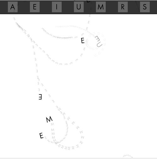 Jorg Piringer: Soundpoem Four - intro screen